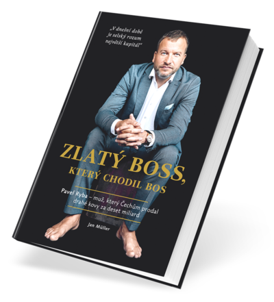 Pavel Ryba Zlatý boss kniha